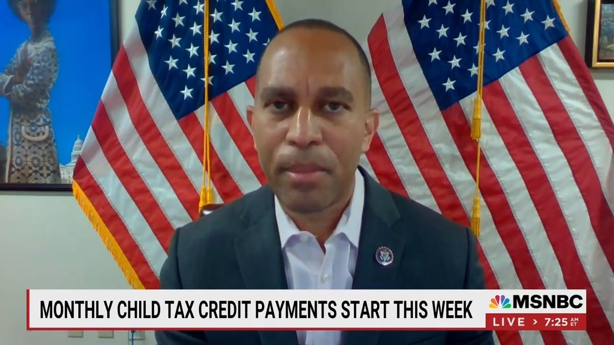 Child tax credit payments to the vast majority of American families begin tomorrow. https://t.co/W9DjEkxDEu