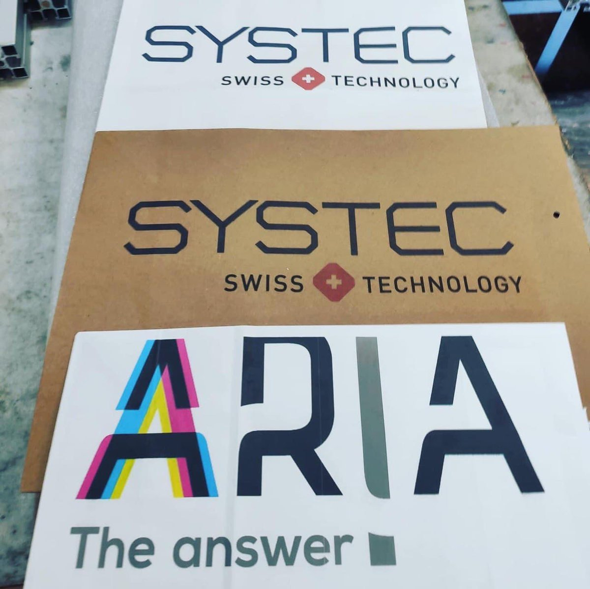 The samples from Aria look beautiful! @systec_conv    Aria is powered by Memjet DuraFlex technology and is a new digital printing machine for overprinting on packages.   https://t.co/jjZf6QBhpI  #printing #packaging #design #innovation