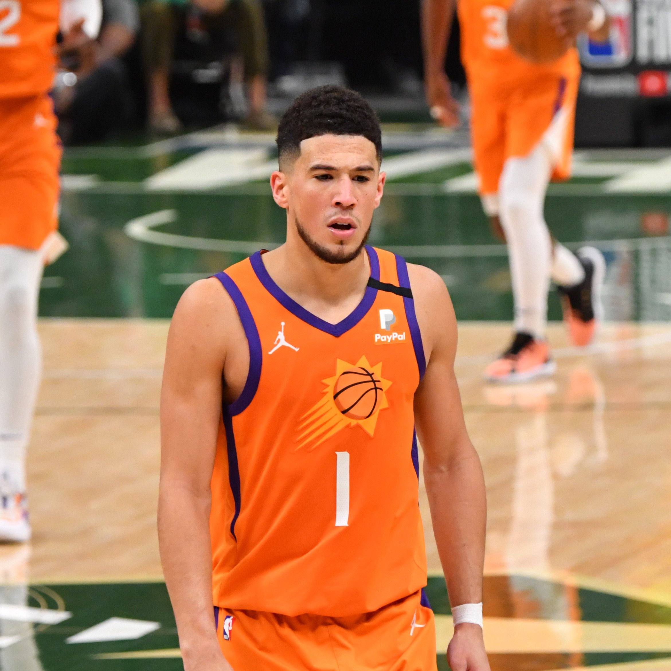 Booker starts strong in the first half