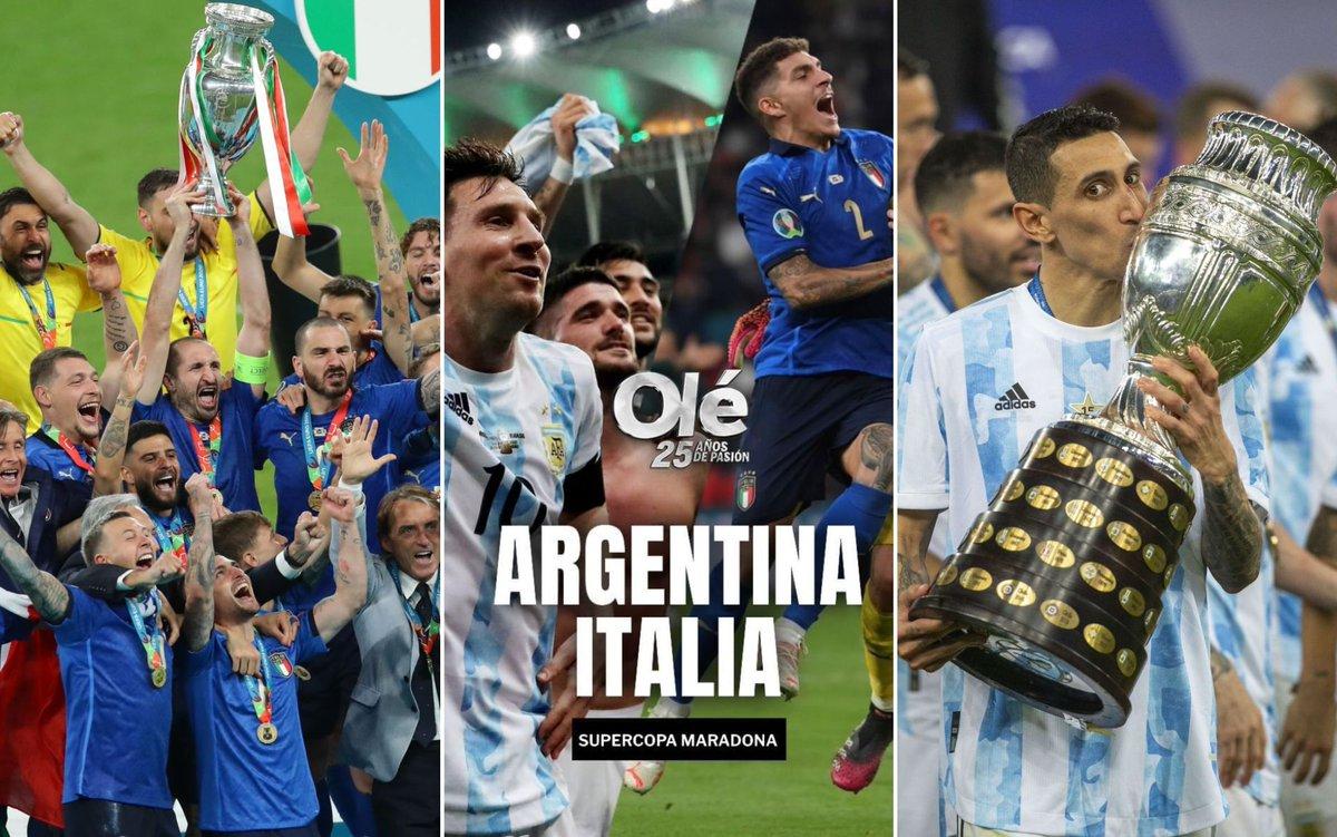 Trận đấu giữa hai ĐKVĐ Argentina và Italia khi nào diễn ra?