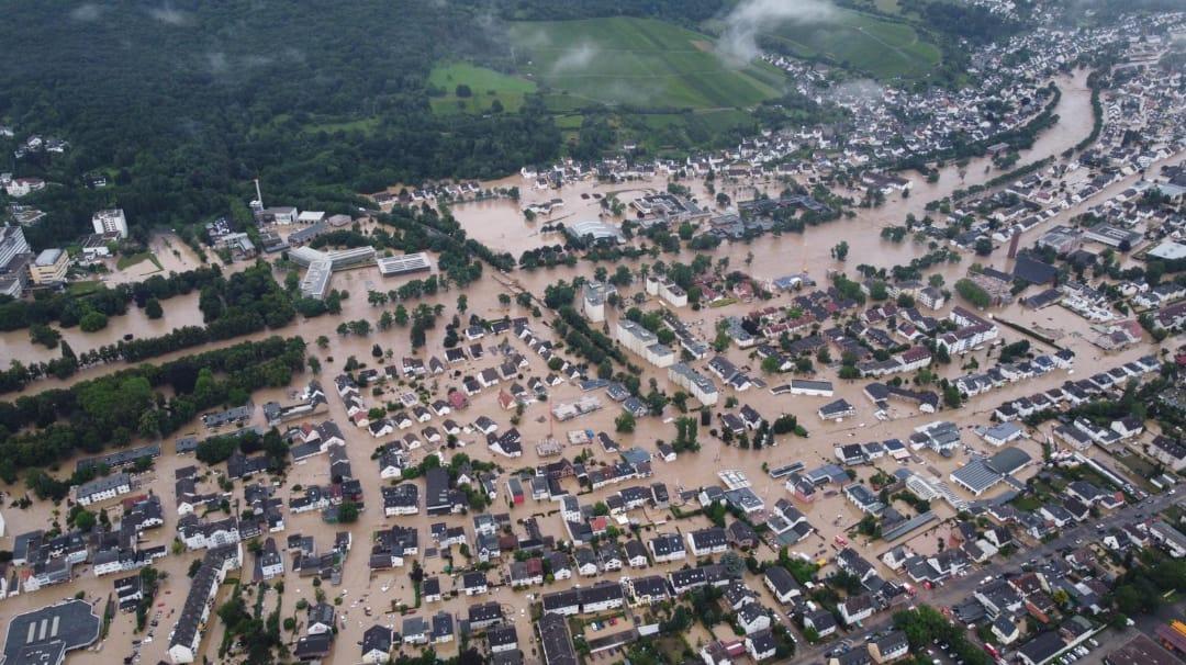 पश्चिमी यूरोप में बाढ़ से 125 लोगों की मृत्यु