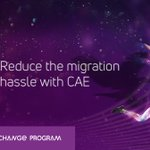 Image for the Tweet beginning: Reduce the hassle of migrating