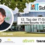 Image for the Tweet beginning: Treffen Sie CEO @mirko_ross heute