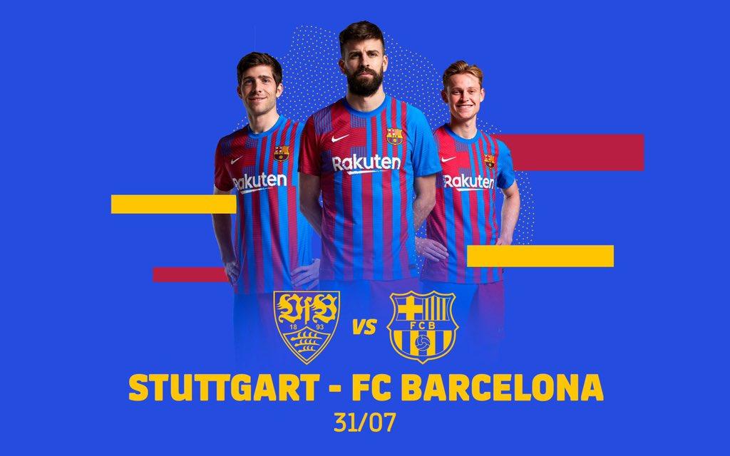 OFICIAL Amistoso Stuttgart- Barcelona de pretemporada el 31 de julio. El Barcelona hará un Stage en Alemania del 28 julio al 2 de Agosto https://t.co/EiNAnlPoln