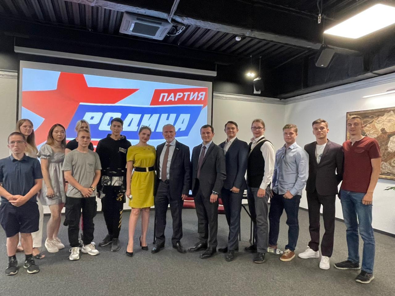 Председатель «Родины» Журавлев посетил Иркутск и жестко высказался о местных властях