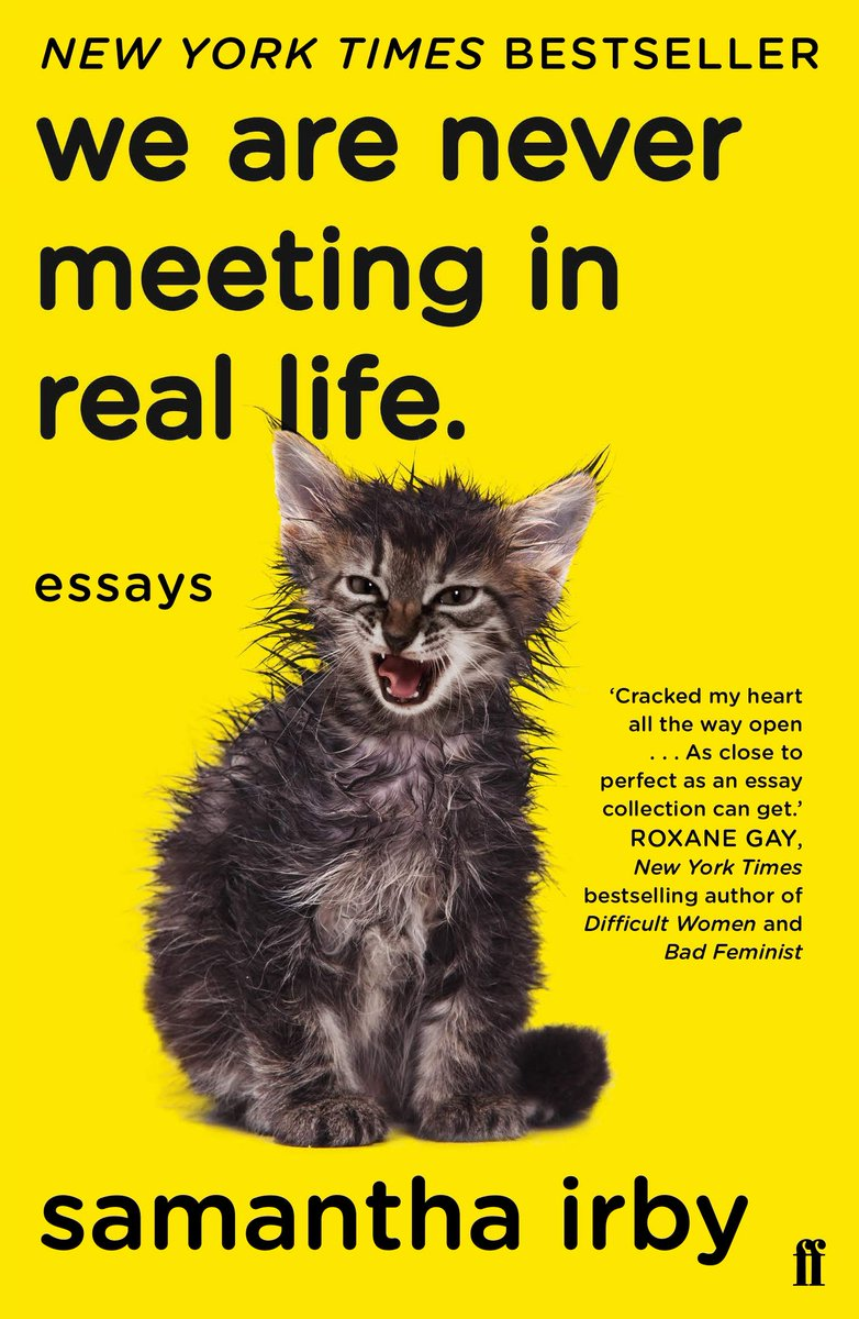#BookOfTheDay We Are Never Meeting in Real Life: Essays by Samantha Irby #DisabilityPrideMonth   Hive Books: https://t.co/b7Gcu6u8UT Amazon: https://t.co/7tBc4Ldg4l https://t.co/5E1ZmkLUHG
