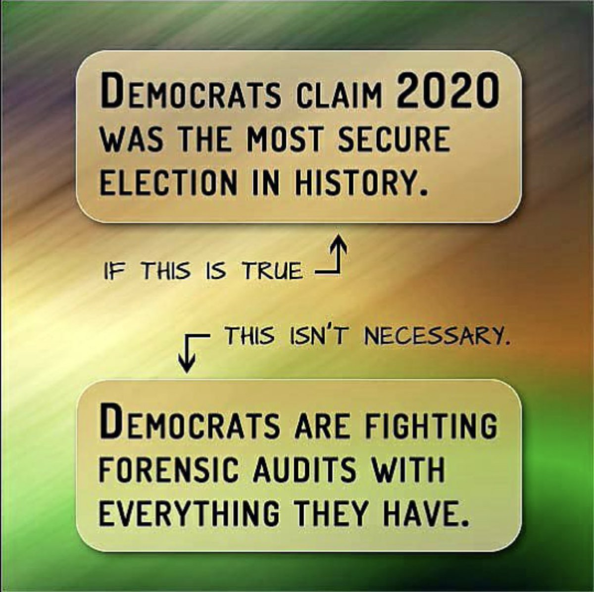 Noelle on Twitter: &quot;If Biden won by 81 million votes. The most ever in an  election, then the audits should prove that? So why are they so scared?  #ArizonaAudit #AuditAll50States… <a href=