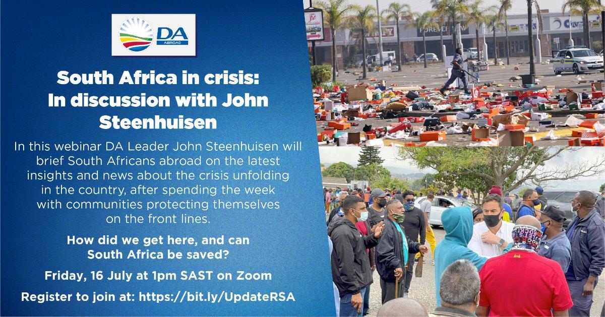 John Steenhuisen MP (@jsteenhuisen)   Twitter