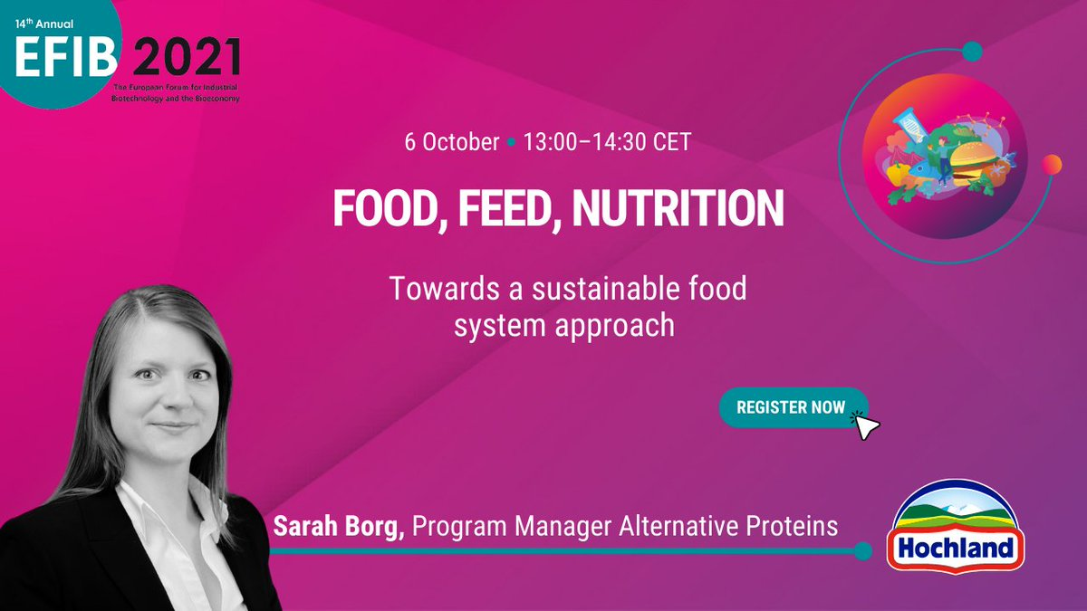 test Twitter Media - Meet our speaker, 𝐒𝐚𝐫𝐚𝐡 𝐁𝐨𝐫𝐠, Program Manager Alternative Proteins, @hochland. She coordinates group wide activities in Hochlands efforts to find new #sustainable #rawmaterials for future #food developments.  📅6 October ⏰13.00 CET  ➡️Register: https://t.co/W4iQM3b25f https://t.co/Hj8KBLGKtQ