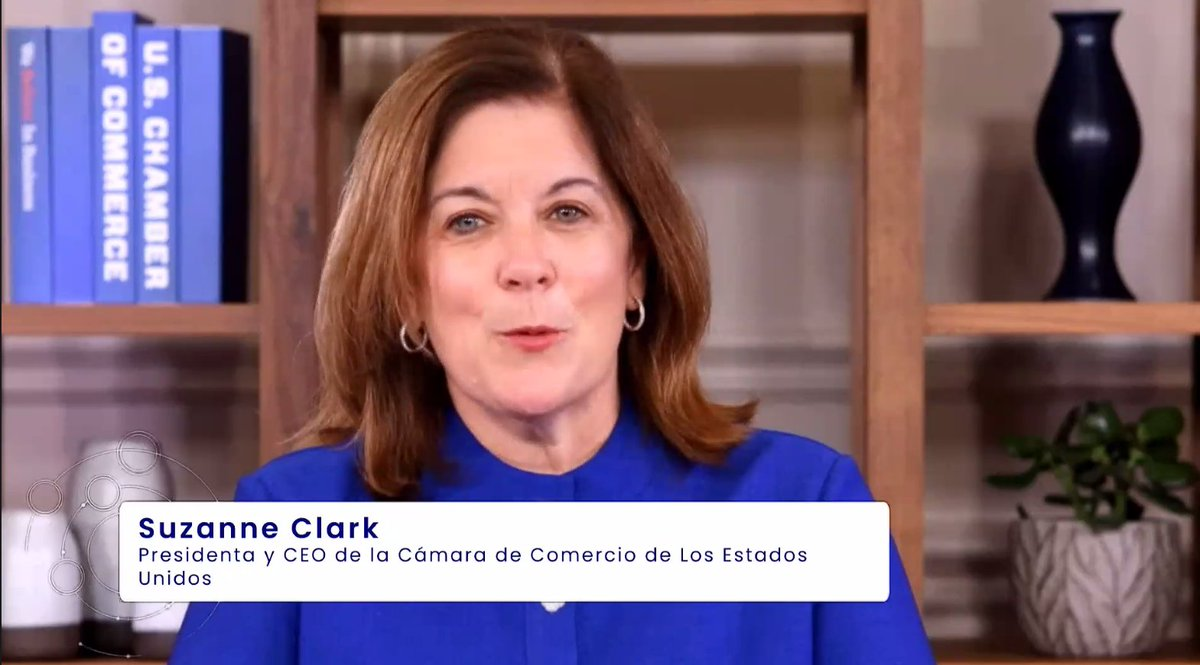 """test Twitter Media - .@SuzanneUSCC on Economic Recovery during @amchamgye's #BFA2021: """"Expanding U.S. #trade in #LatinAmerica and the #Caribbean must also be a priority. 12 of our 20 free trade agreement partners reside in the #Americas, and approximately 60% of U.S. exports go to this region."""" https://t.co/ReCwcgU8XQ"""