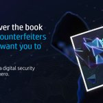 Image for the Tweet beginning: Stay ahead of counterfeiters without