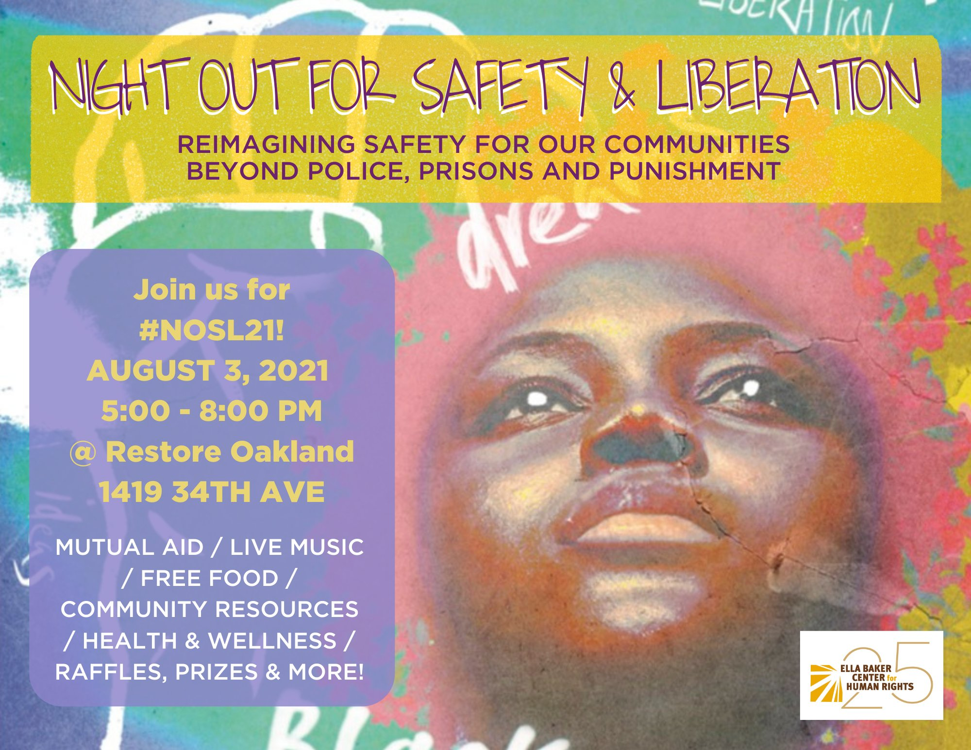 Night Out for Safety & Liberation @ Restore Oakland