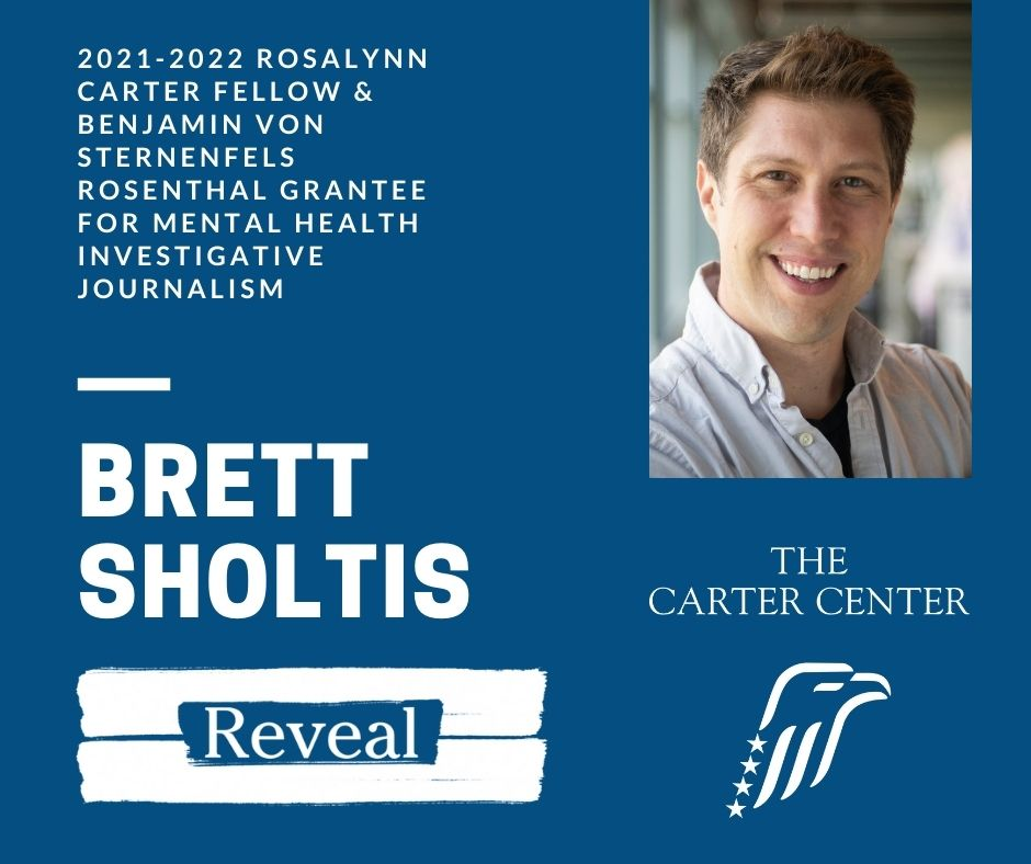 Congratulations Brett and thanks to @reveal for the @carterfellows support!