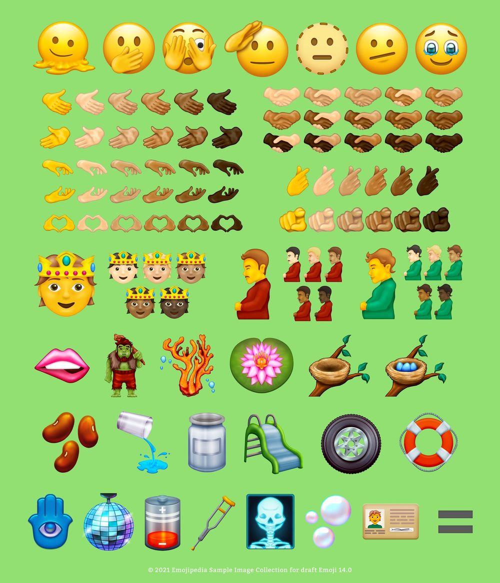 New proposed emojis 2021