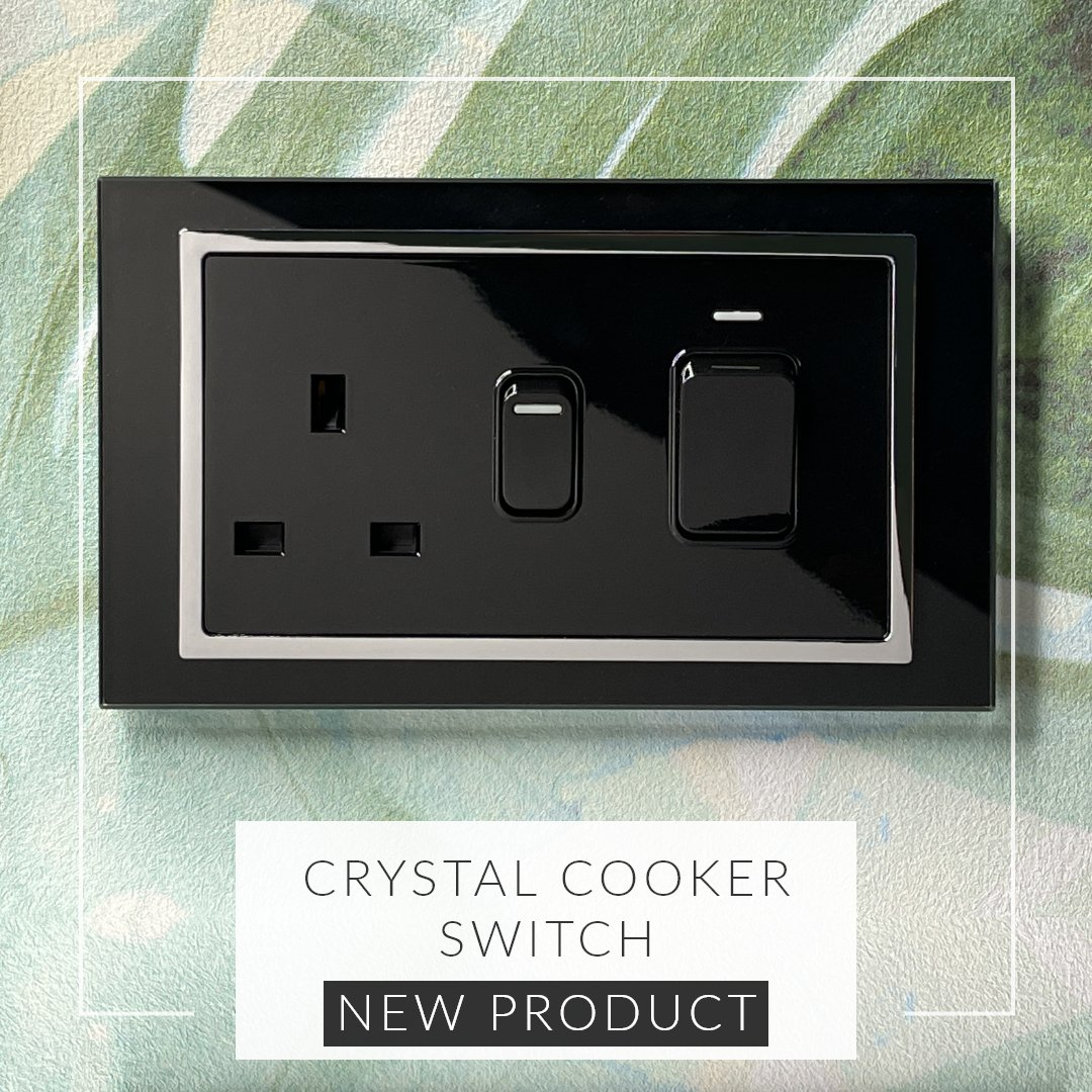 New product! We've released a cooker switch that combines functionality and the style that comes with our Crystal range of switches and sockets. #switches #cookerswitches #kitchen #kitcheninspo #retrotouch retrotouch.co.uk/25a-45a-cooker…