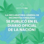 Image for the Tweet beginning: ¡La Declaratoria General de Inconstitucionalidad