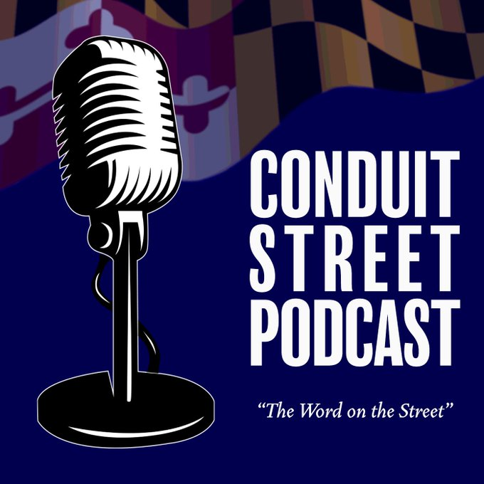 Fantastic conference and conversation with @Conduit_St_Pod and @MarylandForever