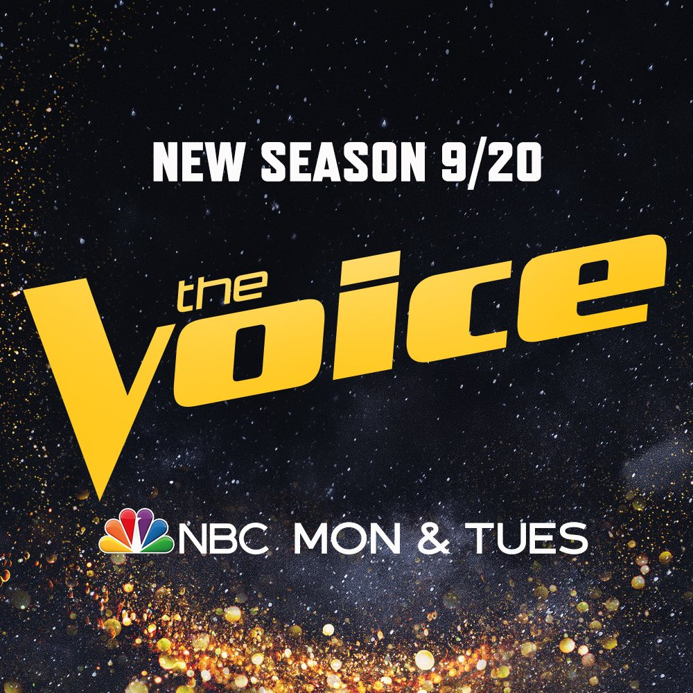 It's time to shine! 🌟🙌 #TheVoice returns with @BlakeShelton, @KellyClarkson, @JohnLegend, and @ArianaGrande September 20 on @NBC. https://t.co/XbZ8CCHSck