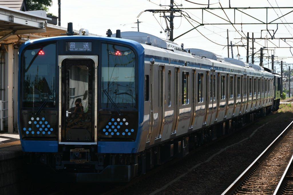E131系500番台甲種輸送