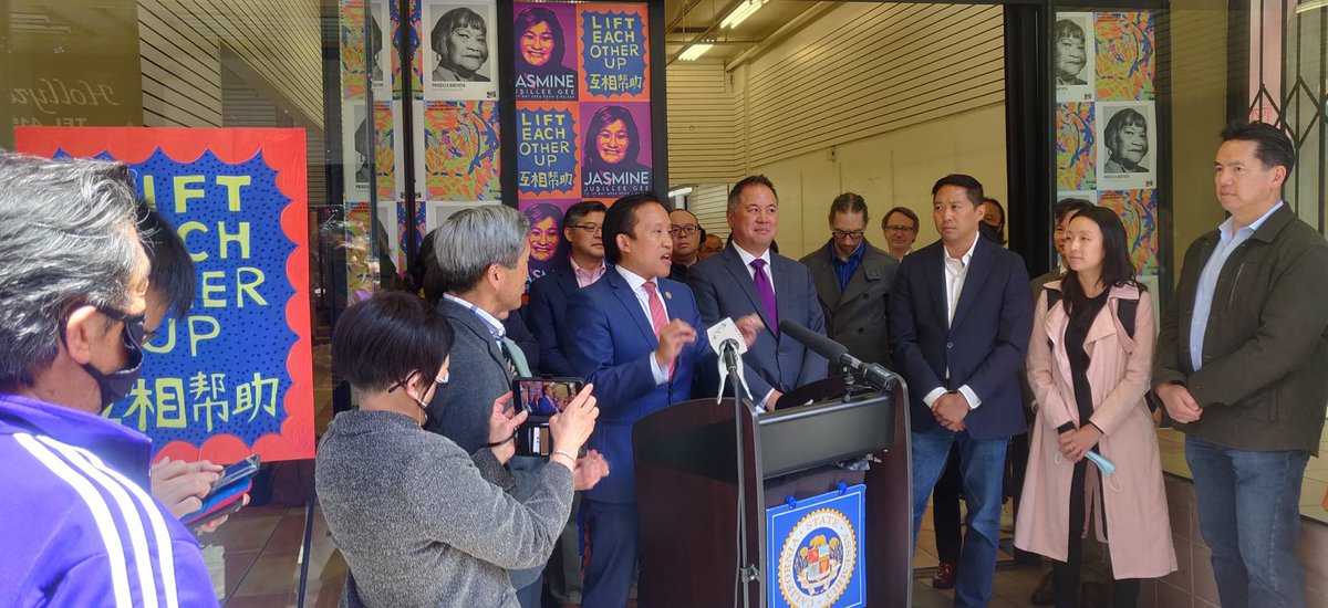 """Announcing $26M in state funding to launch """"Edge on the Square,"""" a new SF Chinatown arts & media center to promote equity & inclusion while uplifting our community from the pandemic & anti-Asian hate. Much thx to @PhilTing & great API community leaders for realizing this vision. https://t.co/jvT1AAzg0T"""