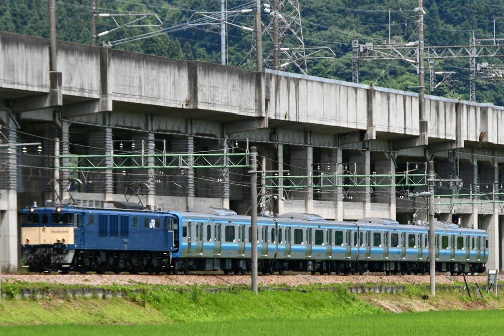 【初の首都圏入り】E131系500番台G-01編成相模線向け車両が国府津へ