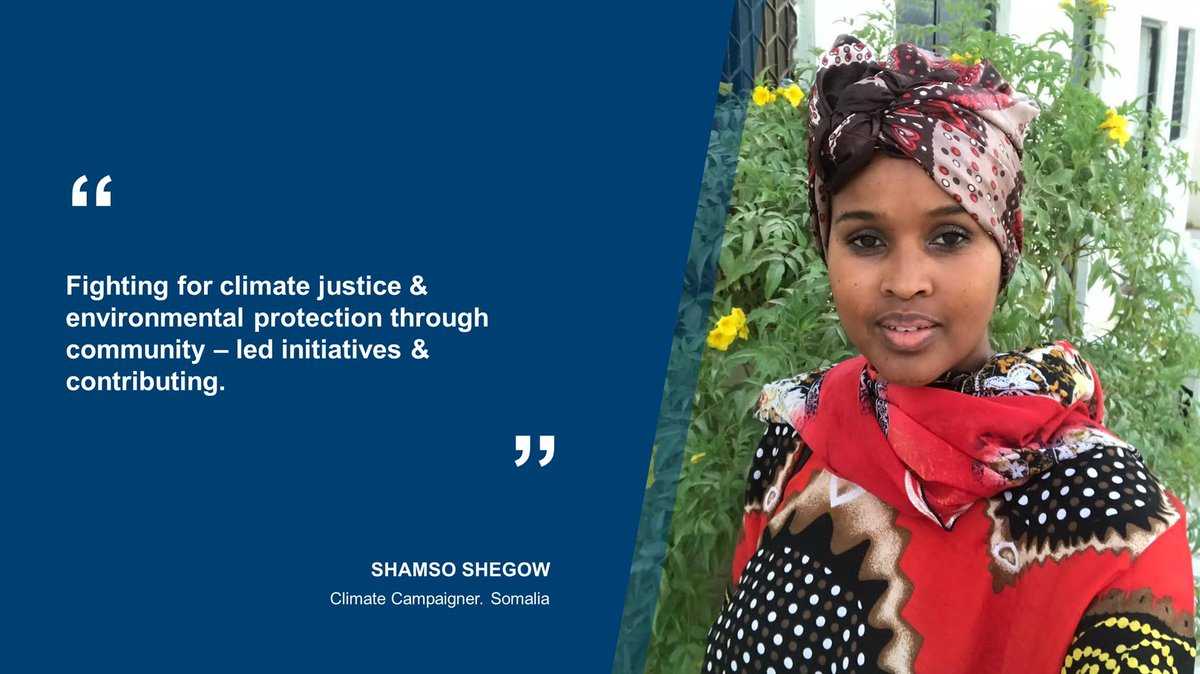 In the run up to #COP26, 🇬🇧 is proud to support the #AUGreenRecovery plan launched yesterday to accelerate #ClimateAction🌳🌏 in African countries.   #Somalia climate activist @SpotonSomalia highlights the importance of environmental protection through community led initiatives https://t.co/iZSbXDQIvK