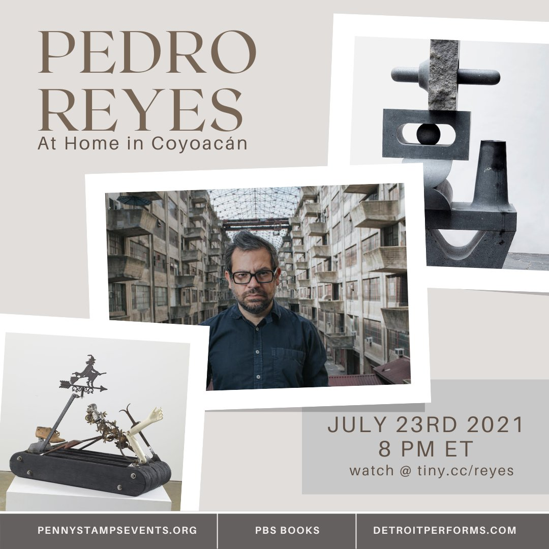 TONIGHT AT 8 ET! Tune in for a special selection from the archive! Watch:https://t.co/ZQSjrV6Cab  Mexican artist Pedro Reyes utilizes sculpture, performance, video, and activism to address current social and political issues.  #pedroreyes #mexicanartist #artist #sculptor https://t.co/3N5PTEkI0s