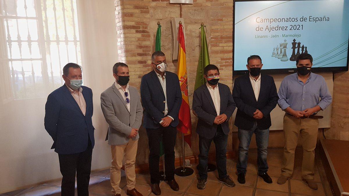 test Twitter Media - RT @AjedrezEspanola: Presentación del Festival de Campeonatos de España Linares - Jaén. https://t.co/txGj4ORA9Y