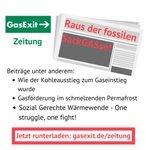 Image for the Tweet beginning: Pünktlich zu #EndeGelände #BlockBrunsbüttel haben