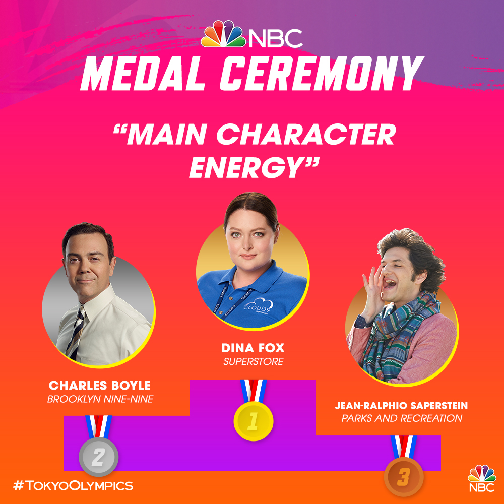 Kicking off the #TokyoOlympics with our very own medal ceremonies! 🥇🥈🥉 Tell us who would be your 4th place. 👇 #EverydayOlympics https://t.co/WqIY5ZXklk