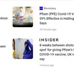 Image for the Tweet beginning: Media headlines telling wildly different