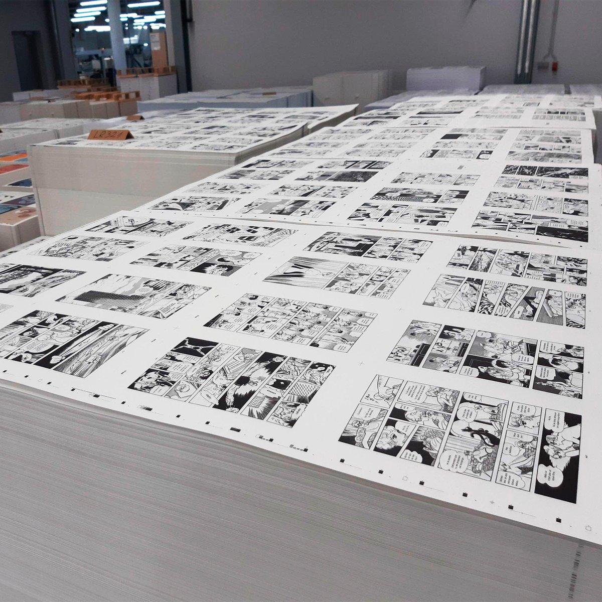 C'était le dernier chantier de l'année, les voilà depuis quelque temps chez notre imprimeur : deux gros pavés d'Osamu #Tezuka, deux récits écrits à la fin des années 1960, à retrouver à la rentrée dans votre librairie préférée! https://t.co/jBNj8q7mbd