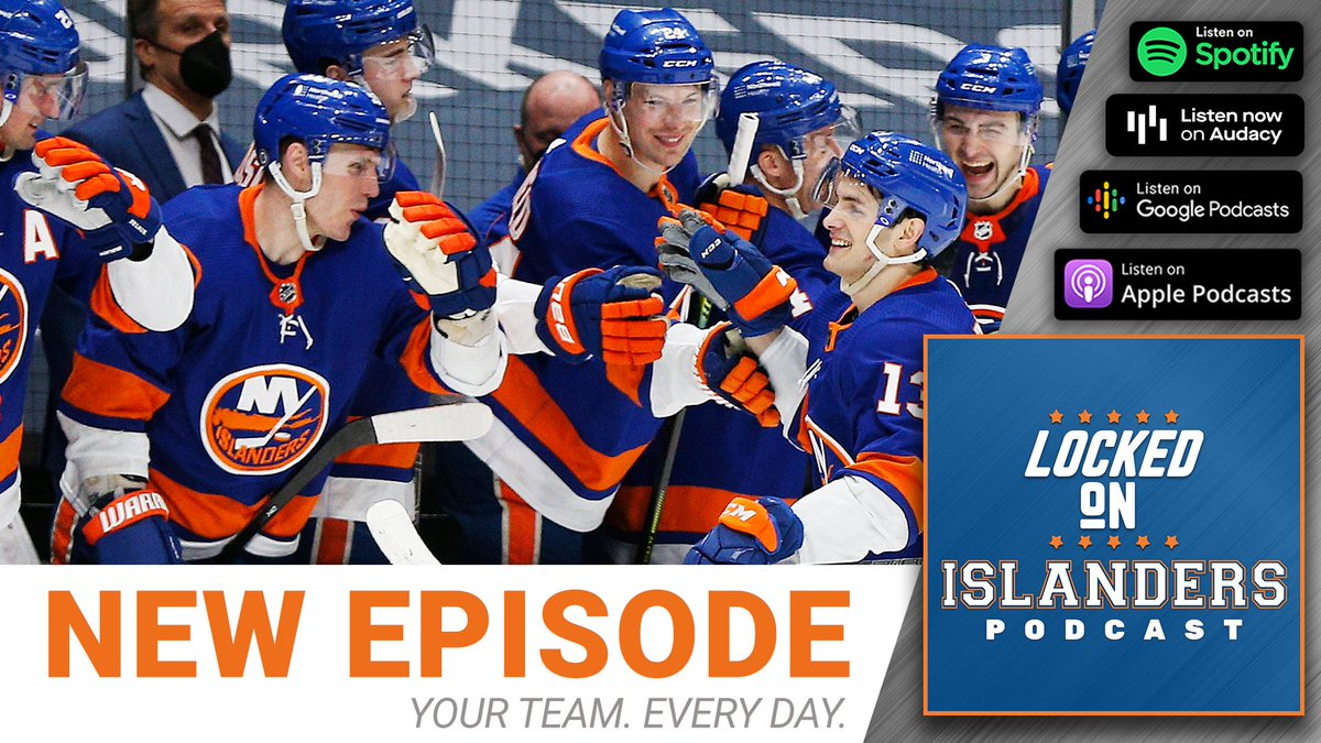 The #Isles 2021-22 schedule has been released & it includes a 13-game road trip to open the season. We also discuss Jordan Eberle's departure & legacy and the draft. All on today's Locked On Islanders Podcast. #NHL https://t.co/KSkbIHXLYH https://t.co/Hk4RpynIu3