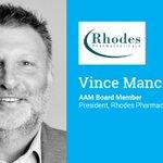 Image for the Tweet beginning: Meet #AAMboard member Vince Mancinelli