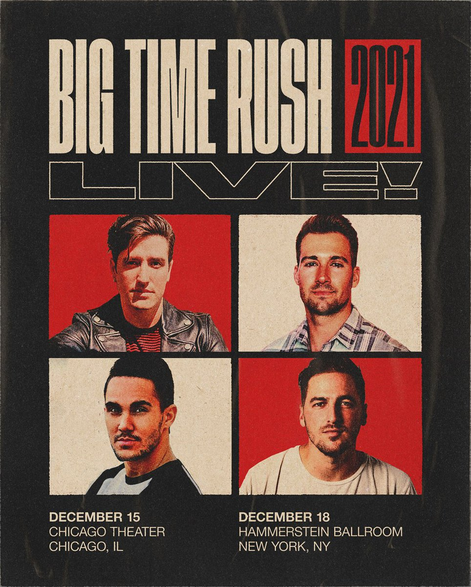 it's time Rushers!! general sale for @bigtimerush's NYC show starts now, and Chicago is coming up https://t.co/mJqBsiAevZ https://t.co/wAcRNY2Zno
