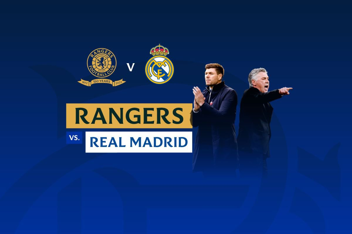 Rangers vs Real Madrid Full Match & Highlights 25 July 2021