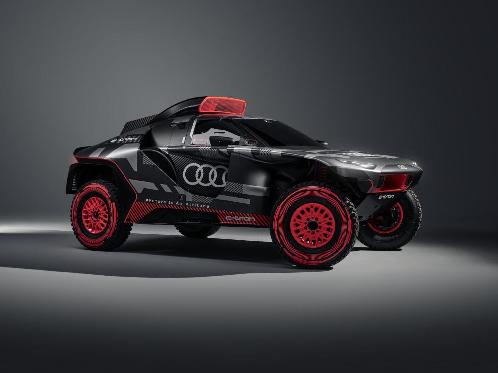 Audi tester fremtidig teknologi ved Dakar Rally med Audi RS Q e-tron https://t.co/ziEfvKk8lB https://t.co/anKsgeRYej