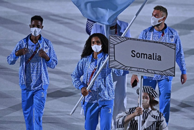 You can't be what you can't see....the world can now see we Somali women can shine anywhere we want and when we want. https://t.co/IMPyuvenAJ