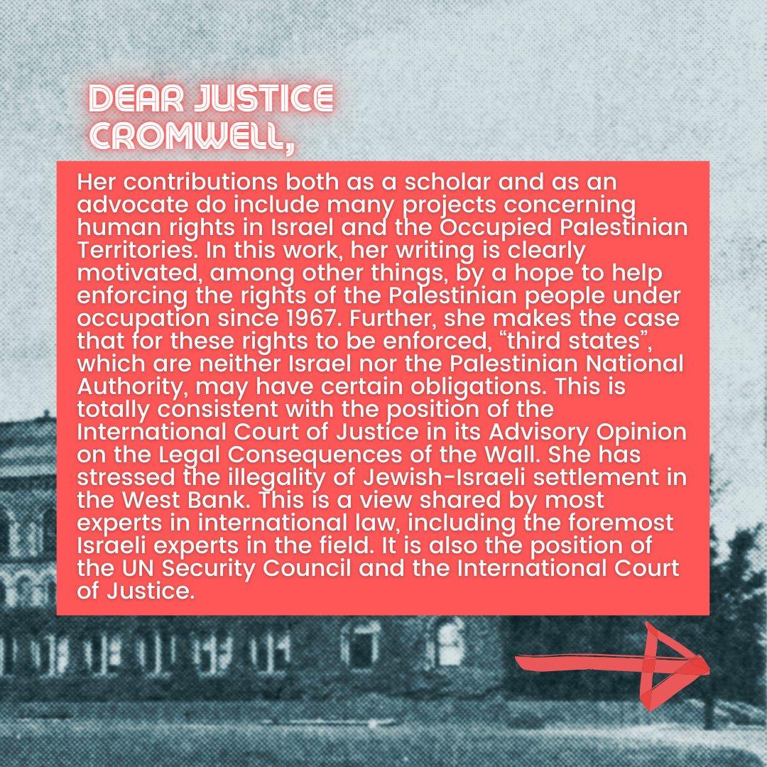 📜Israeli Scholars' Letter to Justice Cromwell📜  5/10  #CensureUofT #UofTScandal #HireValentinaNow https://t.co/bRd2waHmlg