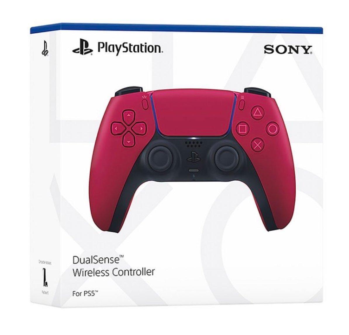Sony Cosmic Red DualSense  PS5  Amazon