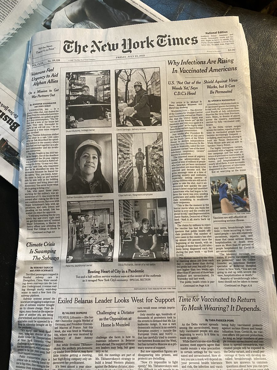 And we're on the front page https://t.co/14ngXbNnRk