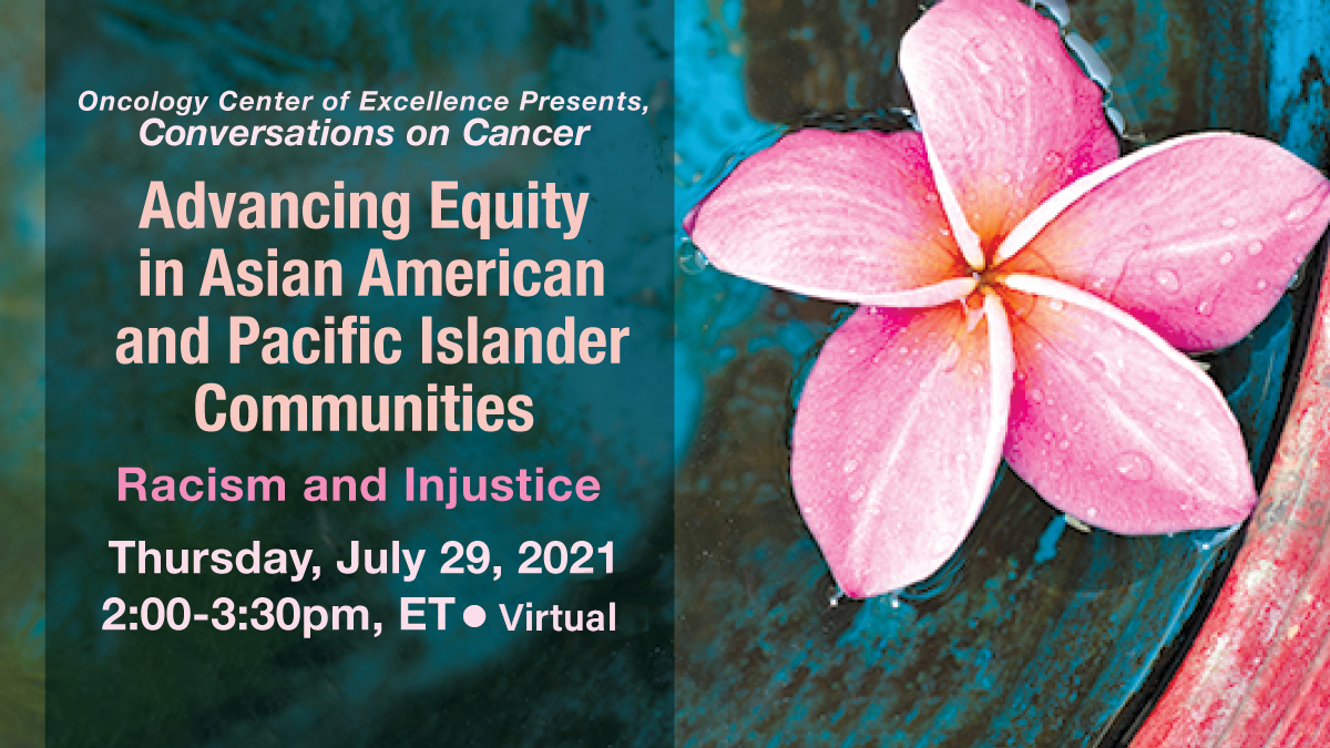 APIAHF will be participating in a panel discussion on Thursday, July 29 from 2 to 3:30 pm ET focusing on AA NH/PI health disparities and the surge of racism during COVID-19. Please register at: https://t.co/QIqK5sxHTn