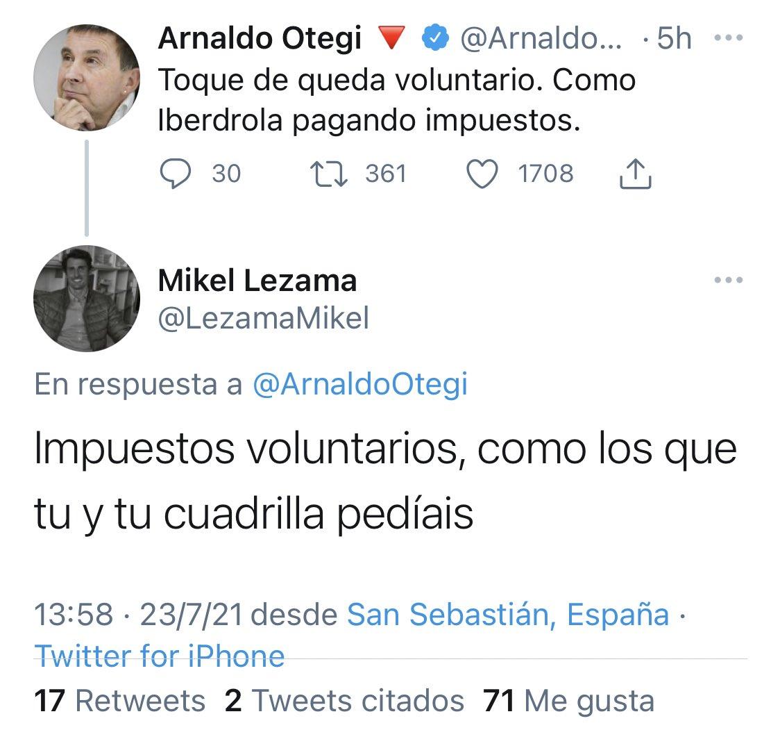 RT @mejoreszasca: ZASCA!!!!!!!!!!!! de @LezamaMikel a @ArnaldoOtegi . Vía @joaquin_ochoa7 https://t.co/rp2T5Z047C