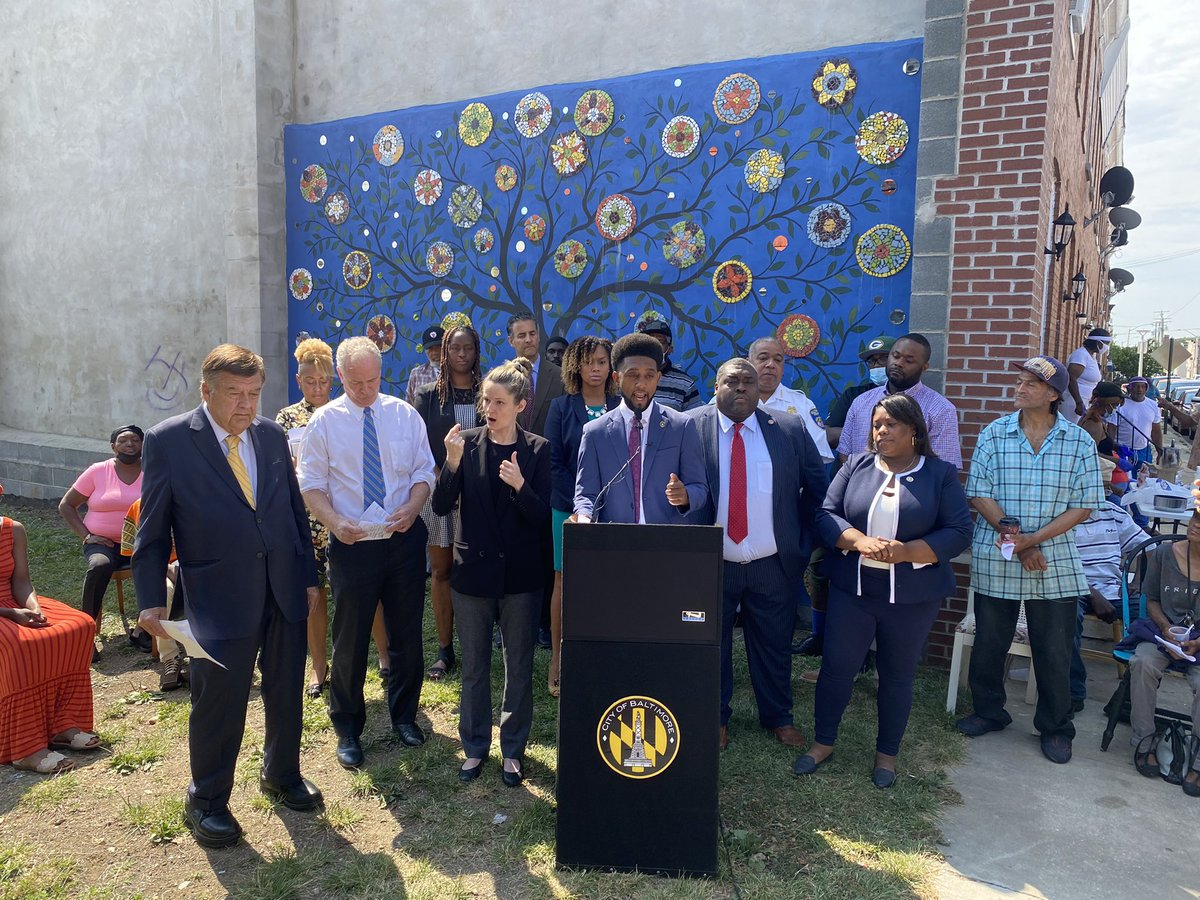 This is a watershed moment. We have to do things differently to disrupt patterns of violent crime. Honored to support @MayorBMScott & other city/state/leaders on this initiative. https://t.co/2878xOxgqH