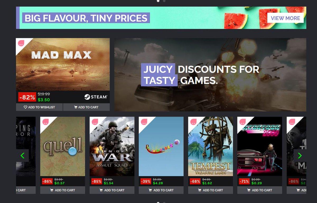 (PCDD) Summer Sale via Green Man Gaming. New Deals Added.