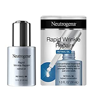 Neutrogena Rapid Wrinkle Repair Anti-Wrinkle Retinol Face Serum Oil $13.99  at