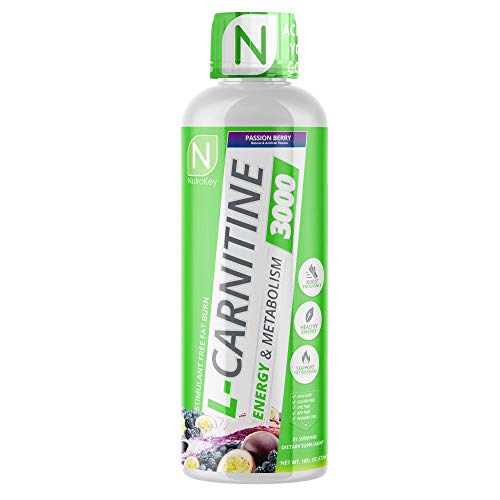 NutraKey L-Carnitine, Turn Into Fuel with Maximum Absorption