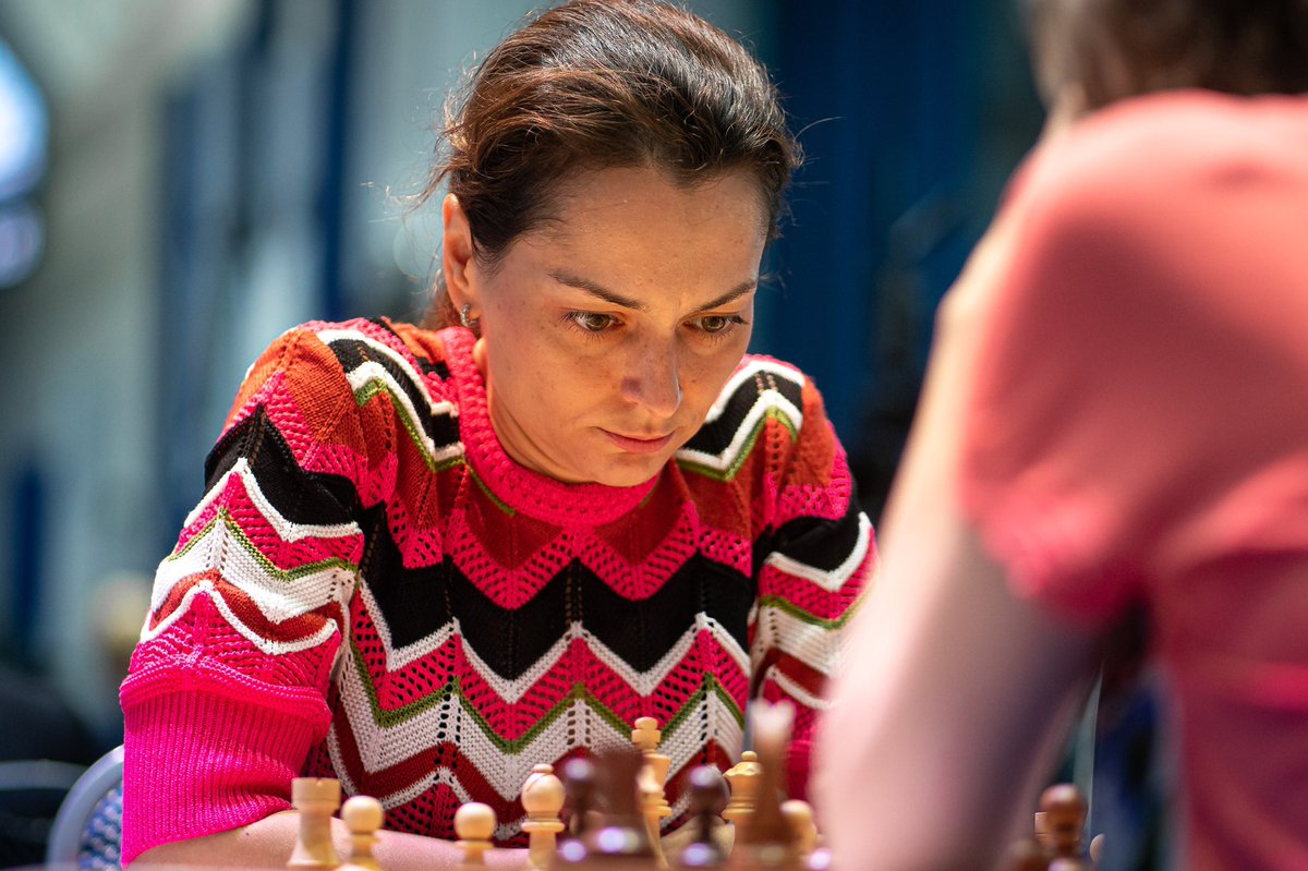 test Twitter Media - Alexandra Kosteniuk beat Mariya Muzychuk on the Second Day of Round 3 and advanced to the Quarterfinals of the Women's #FIDEWorldCup https://t.co/jsKHpsvsaQ