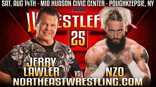"""""""The King"""" @JerryLawler is 71 years old, has had both a heart attack (on live TV) and a stroke (while having sex), and is wrestling a match in Poughkeepsie next month. https://t.co/zrQGCxupj7"""