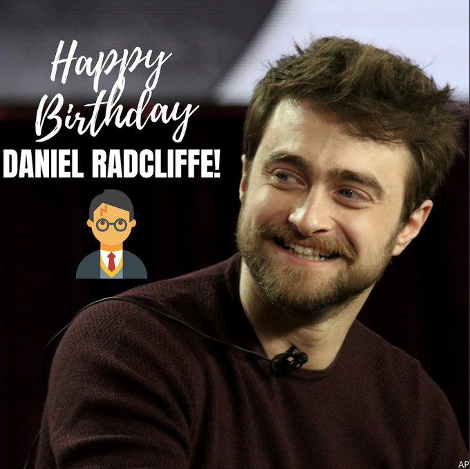 Happy birthday Harry Potter!  Today, Daniel Radcliffe celebrates his 32nd birthday!